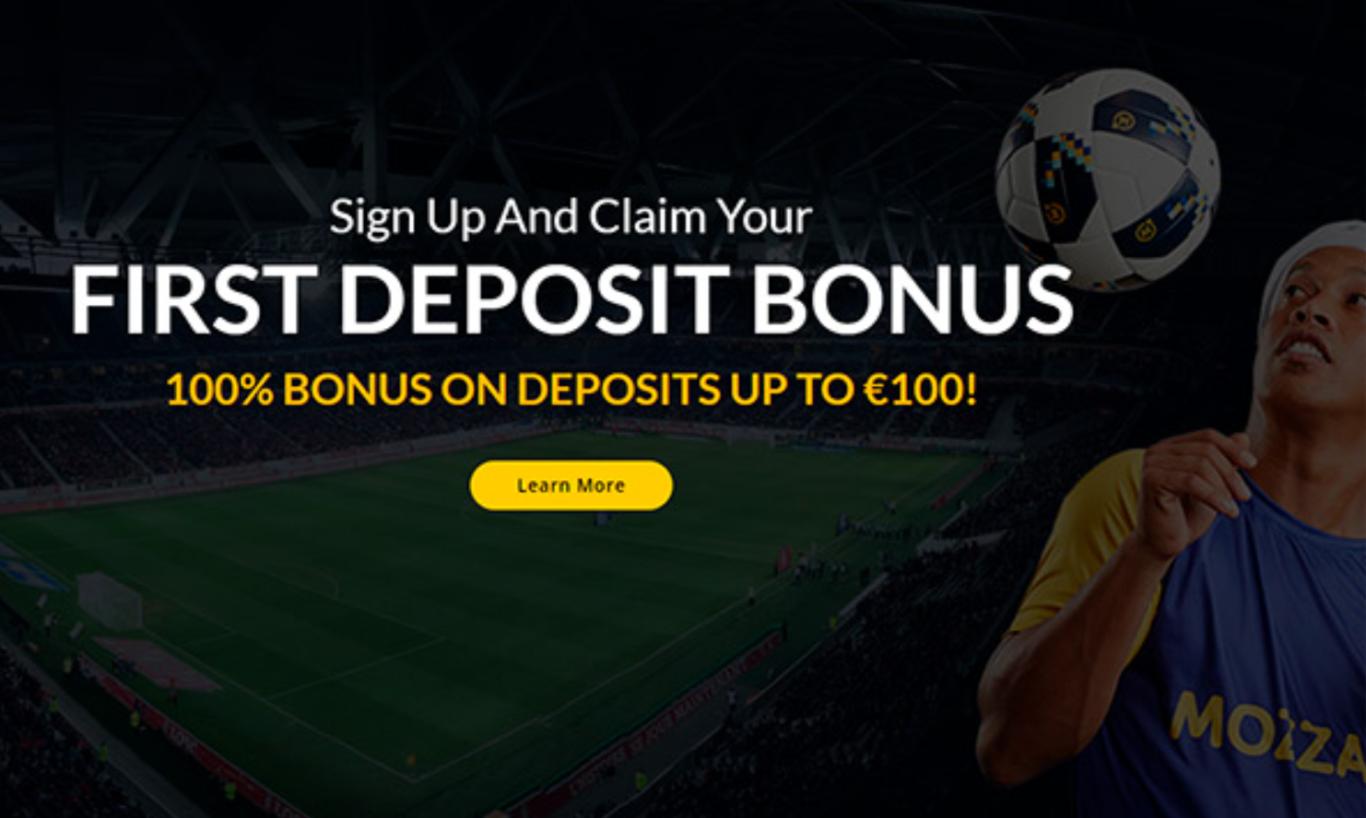 Mozzart bet first deposit bonus